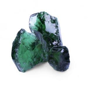 Glas Green Glasbrocken Gabionenstein 100-300