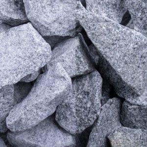 Granit Grau Schüttsteine 32-56mm