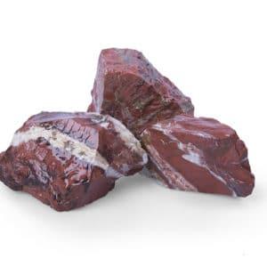 Red Jaspis Gabionensteine 60-120mm