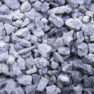 Kristall Blau Edelsplitt 8-16mm