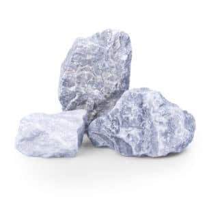 Kristall Blau Gabionensteine 60-100mm