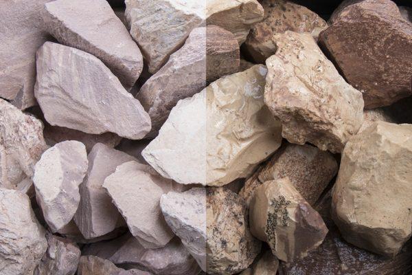Savannen Schüttsteine 32-56mm Bruchsteine