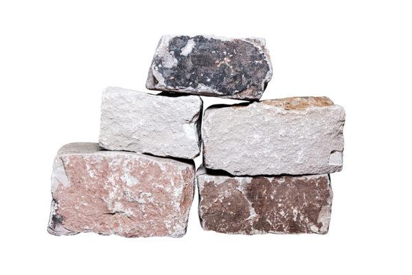 Knacker Mauersteine maschinengespalten