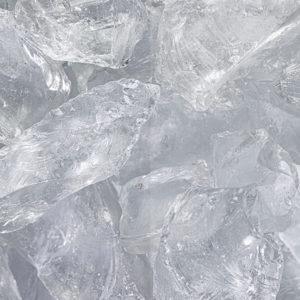 Glas Clear Glasbrocken 40-80mm